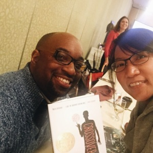My selfie with Kwame Alexander!
