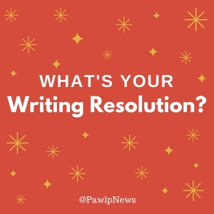 What's your writing resolution-