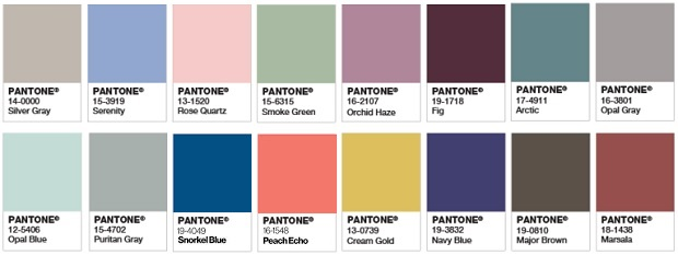 complementary colors pantone color of the year 2016 serenity rose quartz. Black Bedroom Furniture Sets. Home Design Ideas