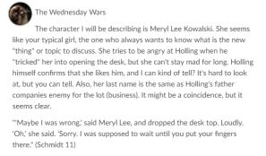 CC Wednesday Wars