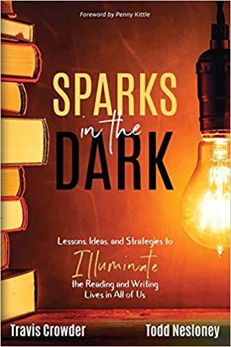 sparks in dark